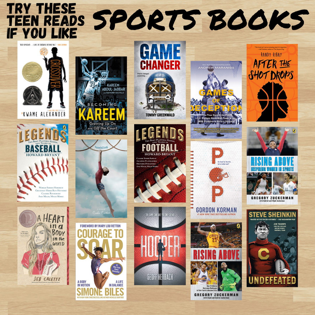 Sports Books for Teens